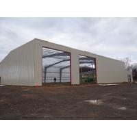 Galvanized Or Painting Warehouse Steel Structure / Metal Building Structure Manufactures