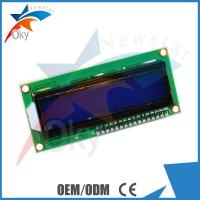 China LCD 1602  I2C Serial Interface Adapter Module With Blue Light And Red Board Module on sale