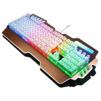 Waterproof Anti Ghosting Bezel Keyboard Rainbow Backlit Keyboard Win 2000 Manufactures