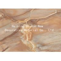 Marble Adhesive Vinyl Hot Stamping Foil Decorative Wall Film 20 - 126cm Width Manufactures