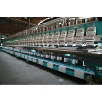China High Efficiency Taping Embroidery Machine Flat Embroidery Equipment on sale