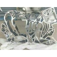 mirror polished stainless steel sculpture for art studio  ,China stainless steel Sculpture supplier Manufactures