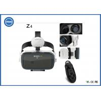 ABS Virtual Reality Game Headset 3D with Earphone Adjustable Distance PMMA Lense Manufactures
