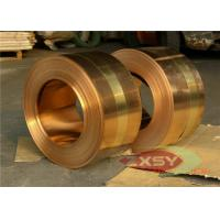 Insulated Casting Oxygen Copper Foil Roll , Thin Copper Sheet 0.005mm - 1.2mm Manufactures