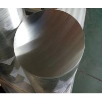 China 0.4 - 6.0mm Thickness Aluminum Round Disc High Purity Smooth Surface ISO9001 on sale