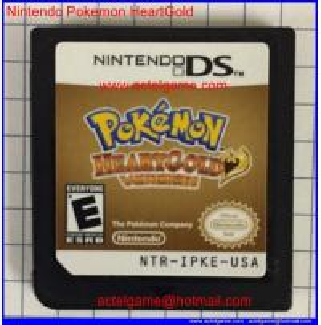 Nintendo Pokemon HeartGold Manufactures