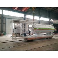 10000L Gas LPG Tank Customized For Mobile Petrol Gas Filling Station Manufactures
