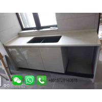 China Foshan Weimeisi White art solid surface quartz products and solid surface stone on sale