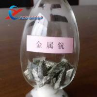 Factory supply high purity rare earth Sc Scandium Metal for Ceramic, optical glass, magnet, etc. Manufactures