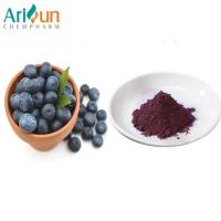 Dark Purple Natural Organic Freeze Dried Blueberry Powder Anthocyanin Included Manufactures
