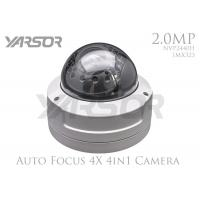 China 1080P Full HD Dome Security Cameras 2.8 - 12mm Variable Focus Lens 2MP CCTV Camera on sale