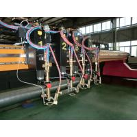 3000 x 14000  CNC Plasma  Flame Cutting Machines For Metal Sheet Manufactures