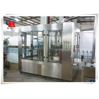 Small Juice Automatic Liquid Filling Machine 380V 50Hz CIP Self Cleaning Interface Manufactures