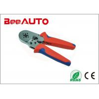 LSC8-6-4 Professional Ratchet Crimp Tool For Bootlace Ferrule , Cable Ferrule Crimping Tool Manufactures
