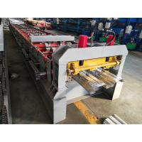 Sheet Cold Roll Forming Machine High Strength Metal Floor Steel Decking Manufactures