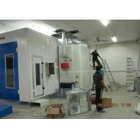 China Centrifugal Fan Car Paint Chamber , Car Oven Spray Booth Color Optional on sale