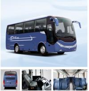 24 - 35seats Luxury Coach Bus , Dongfeng Public Passenger Transport Bus Manufactures