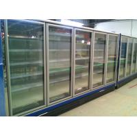 Double Door Multideck Display Fridge Refrigerator For Dairy And Sausages Manufactures