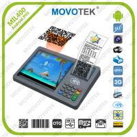 China Movotek Android Handheld Terminal with Bar code Scanner, RFID Reader and Thermal Printer on sale