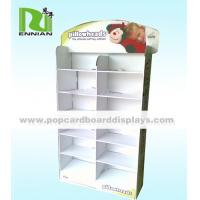 China Pillow Custom Point Of Purchase Displays Promotion Cardboard Display Shelves on sale
