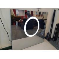 Unique Wall Mirror Led Tv Polished Scratch Resistance For Salon Station Manufactures