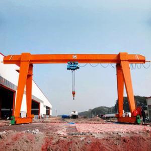China Customizable Single Girder Gantry Crane 5 - 20 Tons Capacity For Handling Stone on sale