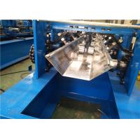 Speed Adjustable Greenhouse Gutter Roll Forming Machine Schneider PLC Control Manufactures