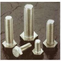 A2 / A4 304 316 Stainless Steel Hex Bolts / Threaded Rod for industrial machine parts Manufactures