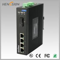 1.2Mpps Fiber Optical Network Switch , Din Rail Installed Outdoor Ethernet Switch Manufactures