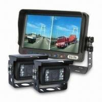 China CCTV LCD Monitor with 2 Reverse Cameras with High-resolution Water on sale