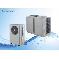 High COP Commercial Heat Pump 41Kw Stainless Steel Or Spray Coating Housing Manufactures