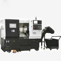 TCK6336 TCK6340 Small Slant Bed CNC Lathe / CNC Turning Center φ520mm Manufactures