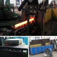 China Medium Frequency Induction Heating Furnace Hot Roll Forging Machine Steel Round Bar on sale
