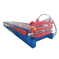 Building Material Roofing Sheet Roll Forming Machine For Metal , Low Noice Manufactures