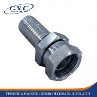 China 22611d Bsp Female Thread 45# Carbon Steel Hydraulic Hose Fitting on sale