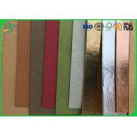 China Natural Cellulose Pulp Tear Proof  Washable Kraft Paper For Making Shoes on sale