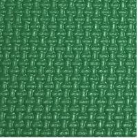China Woven Pattern Badminton Court PVC Flooring Thickened Design Green Color on sale