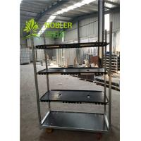 Buy cheap Dutch Trolleys CC Racks PVC Shelf Flower Carts Greenhouse Trolley Plant Cart from wholesalers