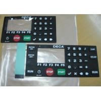China PC / PET Flexible Touch Screen Membrane Switch Keypad with Multi Keys on sale