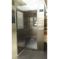 China 4 - 8 Person Intelligent Stainless Steel Air Shower , Class 100 Air Shower Room on sale