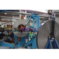 Straight Seam Steel Welding Pipe Mill Production Line Speed 15-30m / Min Manufactures