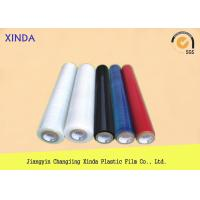 Color PE 4 Rolls Pack Stretch Plastic Wrap for Laminating / Packaging / Covering Manufactures