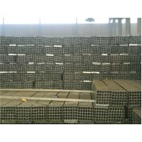 Thick Wall ERW Pre Galvanized Steel Pipe Rectangular / Motorcycle Pre GI Tubing Manufactures
