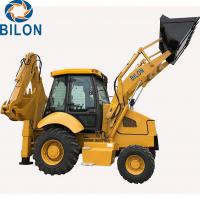 1.5 - 3 Ton Caterpillar Backhoe Loader With 1m3 Front Load Bucket Capacity Manufactures