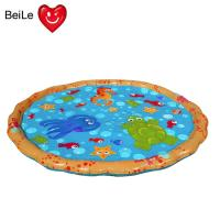 Popular 0.23mm PVC material inflatable baby water play mat Manufactures