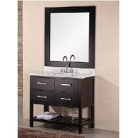34 Single Top Wooden Bathroom Vanity Cabinet  (58293) Manufactures