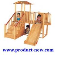 Amusement Equipment ,Outdoor Playground Wooden Slide,Kids Play Equipment Manufactures