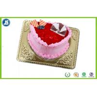 Disposable Plastic Packaging , Plastic Biscuit Tray For Birthday Cakes Manufactures