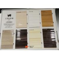 Coloured Moisture Resistant 3D MDF Board For Bookshelf / Shoe Cabinet Manufactures