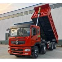 China Tipper Used Dump Truck 12 Wheel Dump Truck 40 - 60 Ton 7.47L Displacement on sale